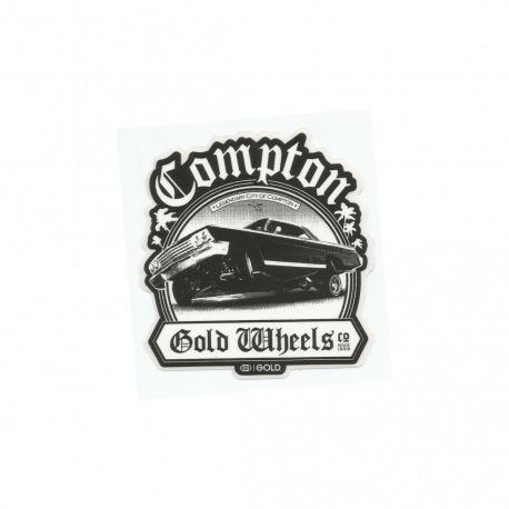 Adesivo Gold Compton (9,5cm x 9cm)