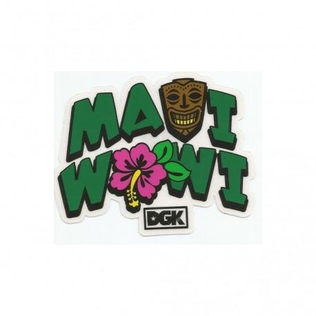 Adesivo DGK Maua Wowi - (8,5cm x 11cm)