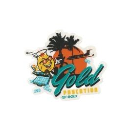 Adesivo Gold Paycation - (9,5cm x 10,5cm)