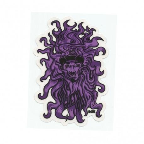Adesivo DGK Purple Face - (11cm x 7,5cm)