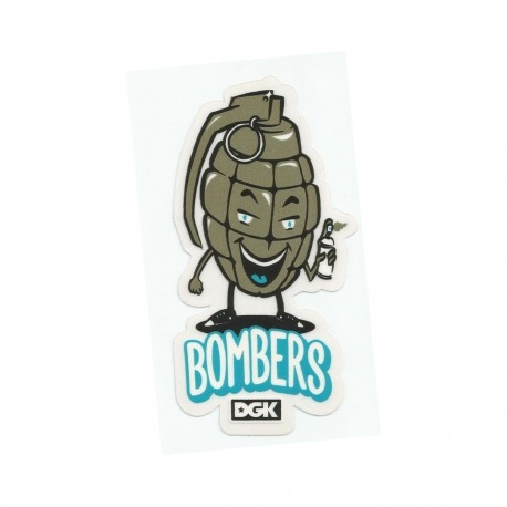 Adesivo DGK Bombers - (12,5cm x 6,5cm)