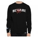 Moletom Grizzly Careca Wonded Beware - Preto