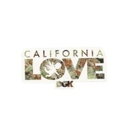 Adesivo DGK Cali Love - (5,5cm x 11cm)