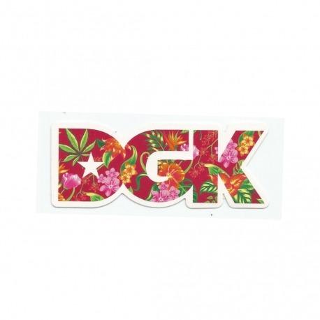 Adesivo DGK Permanent Vacation - (4cm x 10cm)