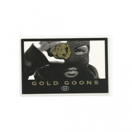 Adesivo Gold Theft - (7,5cm x 11cm)