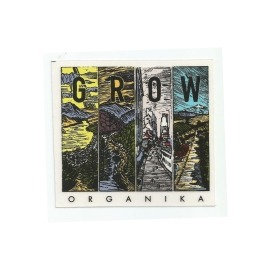 Adesivo Organika Frames - (8,5cm x 9cm)