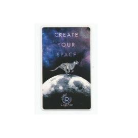 Adesivo Organika Create your Space - (11cm x 6,5cm)