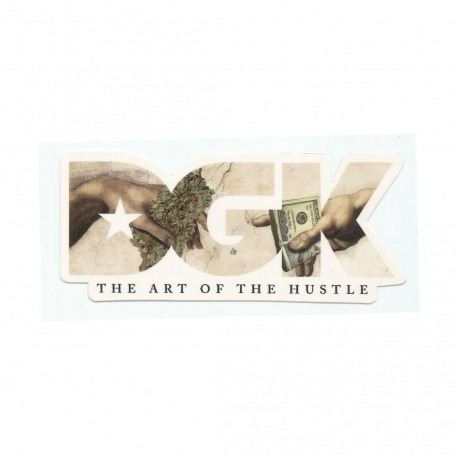 Adesivo DGK The Art of the Hustle (6cm x 14cm)