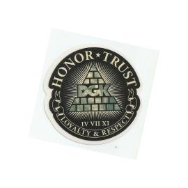 Adesivo DGK Honor Trust - (7,5cm x 7,5cm)