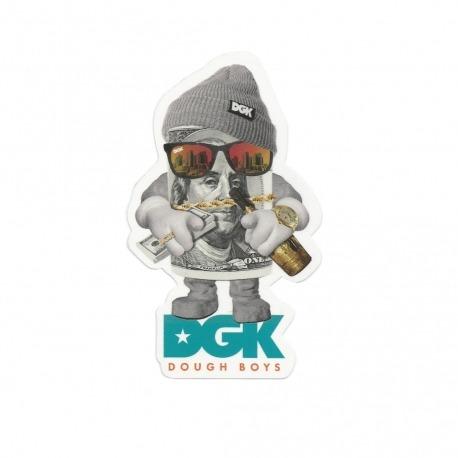 Adesivo DGK Dough Boys - (12cm x 7cm)