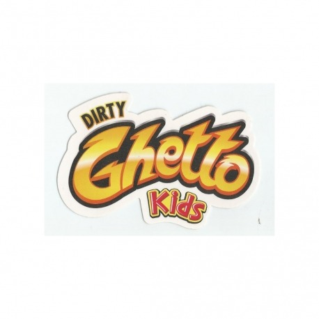 Adesivo DGK Guetto Kids - (7cm x 10,5cm)