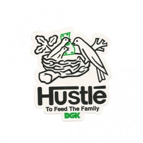 Adesivo DGK Hustle - (9,5cm x 8cm)
