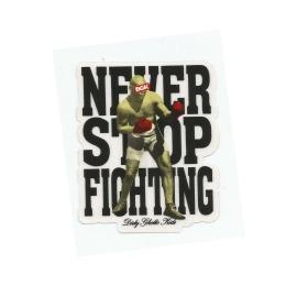 Adesivo DGK Never Stop Fighting - (9,5cm x 7,5cm)