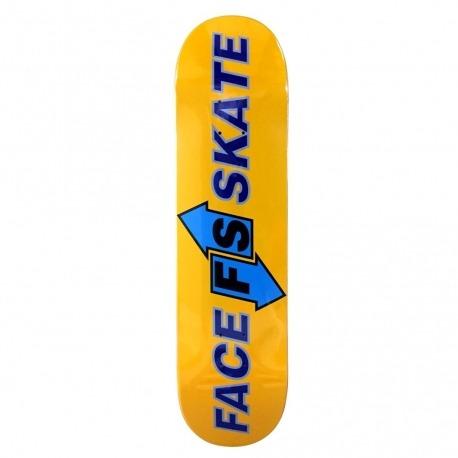 Shape Face Skate Direction Logo
