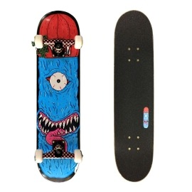 Skate Montado Milk Monster Blue