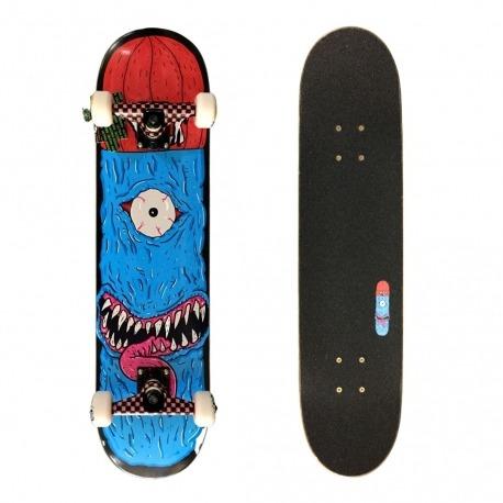 Skate Montado Milk Monster Blue