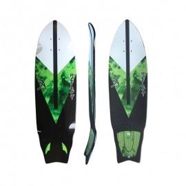 Shape Reflect Simulador de Surf Green Smoke - COM LIXA ESTAMPADA