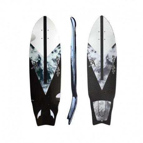 Shape Reflect Simulador de Surf Grey Smoke - COM LIXA ESTAMPADA