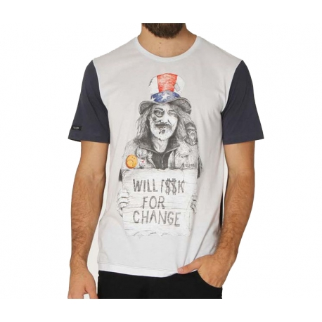 Camiseta Globe Uncle Damn