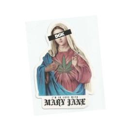 Adesivo DGK Mary Jane - (11,5cm x 7,5cm)