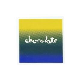 Adesivo Chocolate Faded Square - (7,5cm x 7,5 cm)