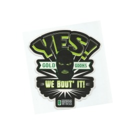 Adesivo Gold Yes! - (10,5cm x 9,5cm)