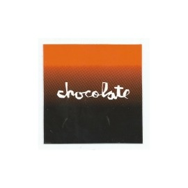 Adesivo Chocolate Faded Square Orange/Black - (7,5cm x 7,5 cm)