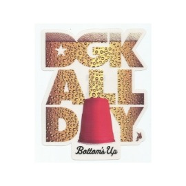 Adesivo DGK All Day Beer - (14cm x 11,5cm)