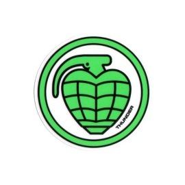 Adesivo Thunder Circle Grenade Green - (10cm x 10cm)