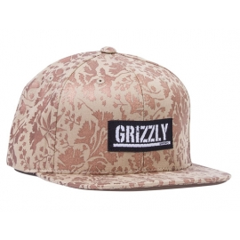 Boné Grizzly x Starter Springfield Snapback - Marrom