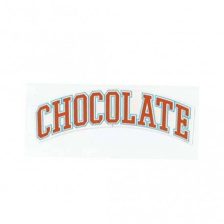 Adesivo Chocolate League Orange - (4,5cm x 19,5 cm)