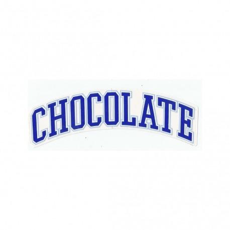 Adesivo Chocolate League Blue - (4,5cm x 19,5 cm)