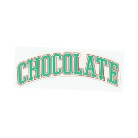 Adesivo Chocolate League Green - (4,5cm x 19,5 cm)
