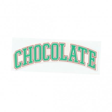 Adesivo Chocolate League Green - (4,5cm x 19,5 cm)