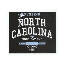 Adesivo Real North Carolina - (13cm x 15cm)