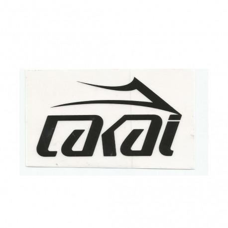 Adesivo Lakai Logo Black - (6cm x 10cm)