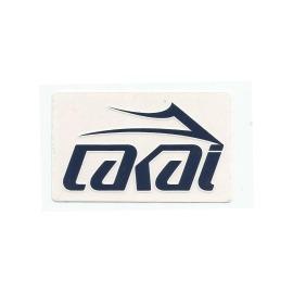 Adesivo Lakai Logo Navy - (6cm x 10cm)
