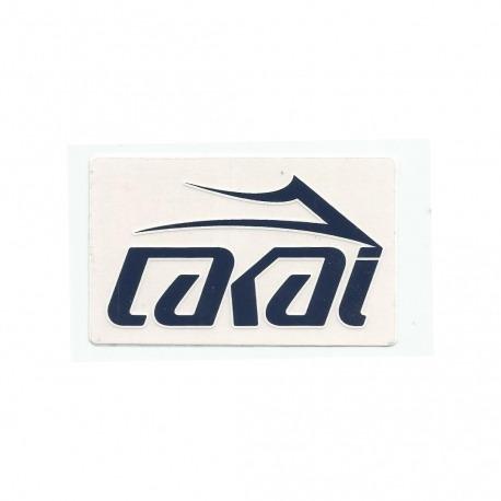 Adesivo Lakai Logo Red - (6cm x 10cm)