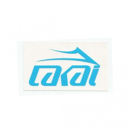 Adesivo Lakai Logo Blue - (6cm x 10cm)