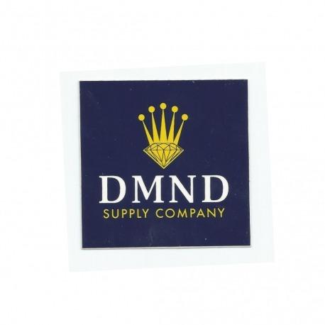 Adesivo Diamond Crown Blue - (7,5cm x 7,5cm)