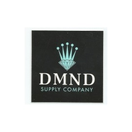 Adesivo Diamond Crown Black/Green - (7,5cm x 7,5cm)
