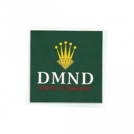 Adesivo Diamond Crown Green - (7,5cm x 7,5cm)