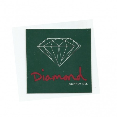 Adesivo Diamond OG Sign Green - (7,5cm x 7,5cm)