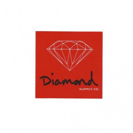 Adesivo Diamond OG Sign Red - (7,5cm x 7,5cm)