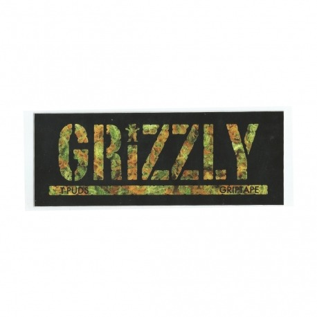 Adesivo Grizzly Stamp T-Puds Kush - (7,5cm x 20cm)