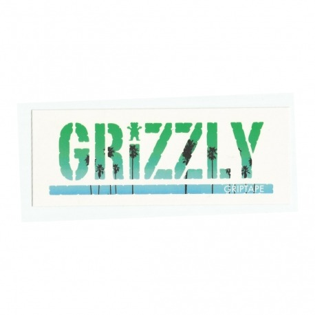 Adesivo Grizzly Stamp Palms Green - (7,5cm x 20cm)