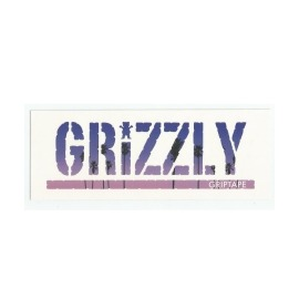 Adesivo Grizzly Stamp Palms Blue - (7,5cm x 20cm)
