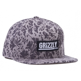 Boné Grizzly x Starter Springfield Snapback - Cinza