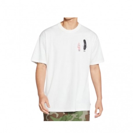 Camiseta Nike SB Friends White