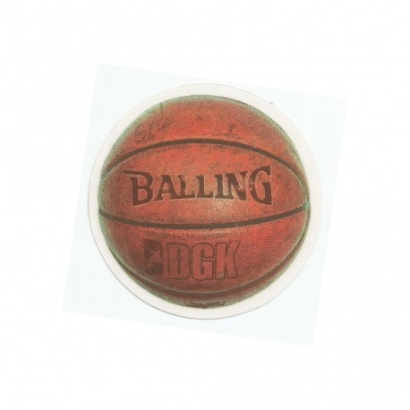 Adesivo DGK Bask Balling - (9,5cm x 9,5cm)